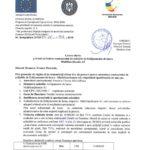 Anunt/cerere de oferta achizitie- Multifunctionala A3 in cadrul proiectului POCU 437/4/4/126811