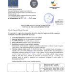 Anunt/cerere de oferta achizitie- SERVICII DE ORGANIZARE EVENIMENTE in cadrul proiectului POCU 437/4/4/126811