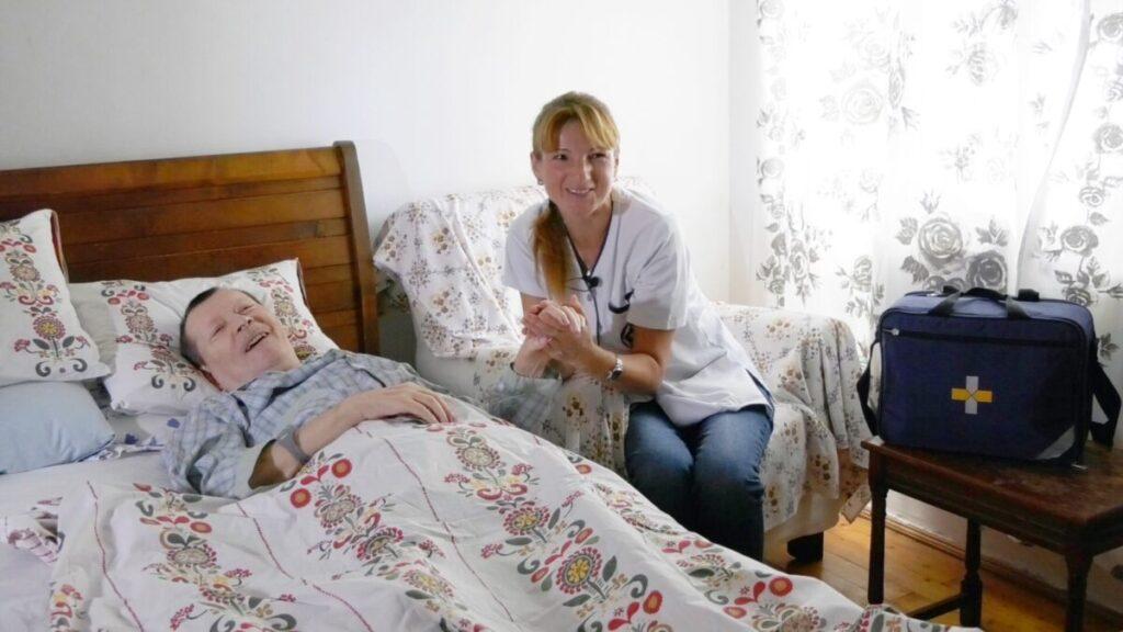 Ingrijirea pacientului imobilizat la pat